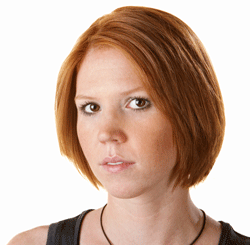Picture of red-headed woman