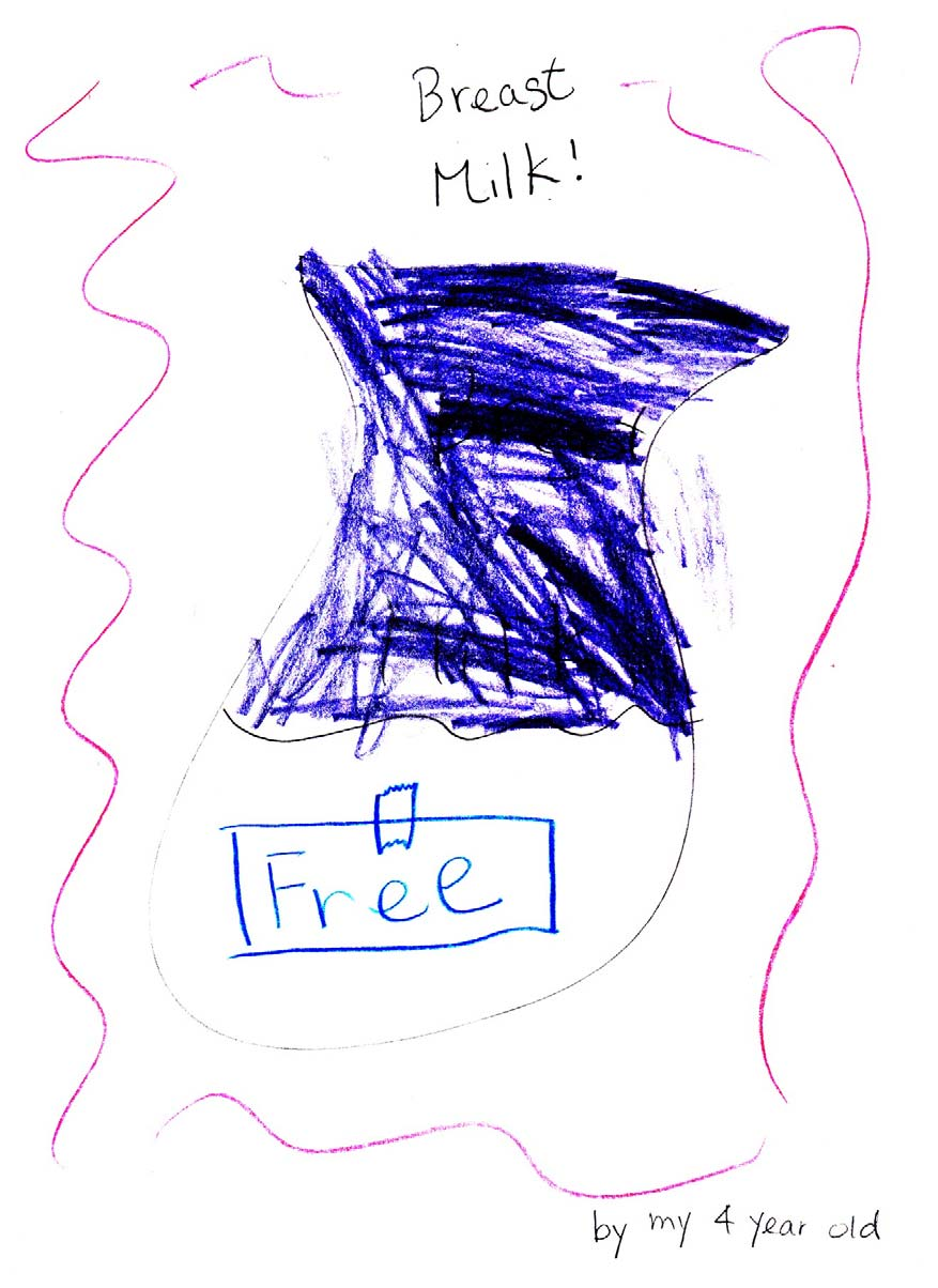 Drawing by Cecilia's daughter, aged 4